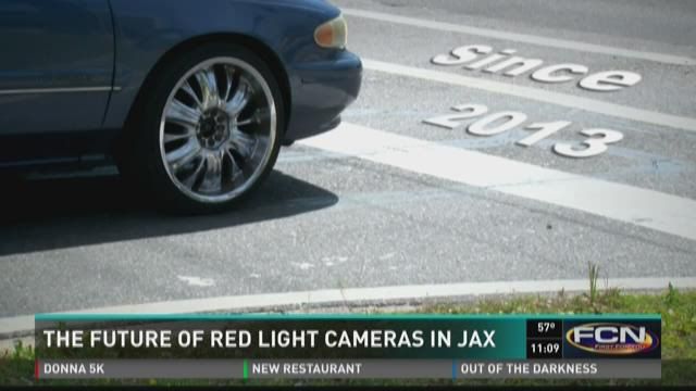 The future of red light cameras in Jax