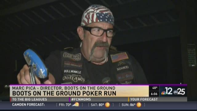 Boots on the ground poker run