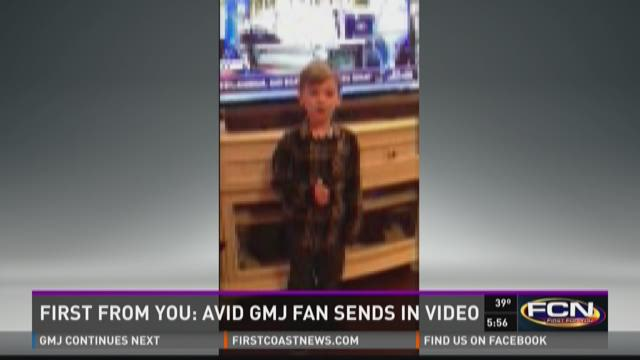 WATCH: Young GMJ fan sends in adorable video