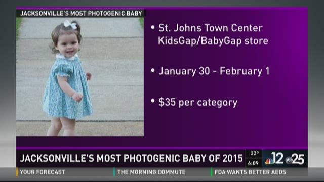 Jacksonville's most photogenic baby of 2015