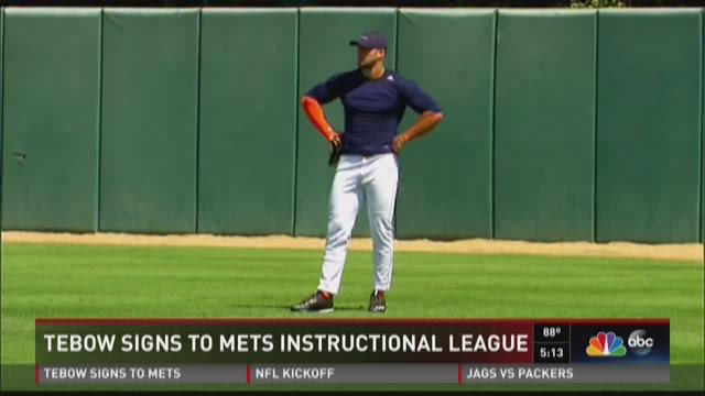 Tebow Signs To Mets Instructional League Firstcoastnews