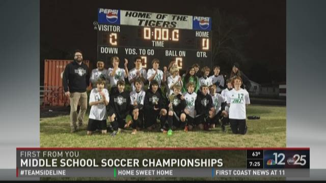 First From You: Middle School Soccer Championships
