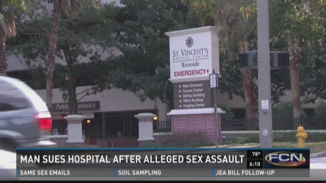 Man sues St. Vincent's after alleged sexual assault