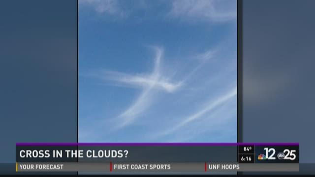 Cross in the sky.