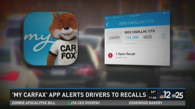 App alerts drivers to recalls on car
