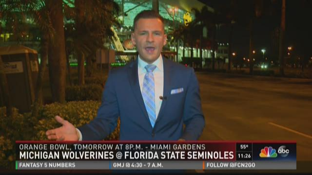 Brian Chojnacki Reports From a Weird Orange Bowl