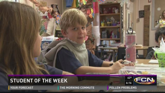 Student of the Week: Peter Fouts