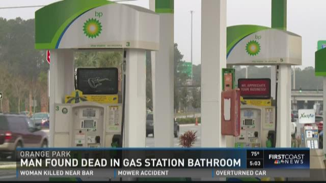 Man Found Dead In Gas Station Bathroom