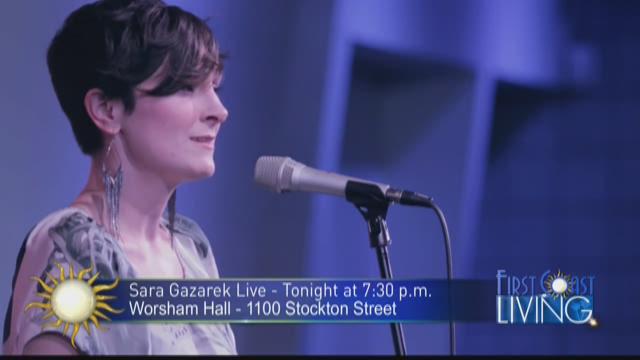 Jazz singer Sara Gazarek