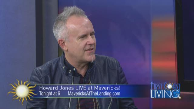 Singer/Songwriter Howard Jones