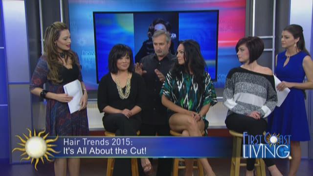 Model Yoanna House talks top hair trends of NY Fashion Week.
