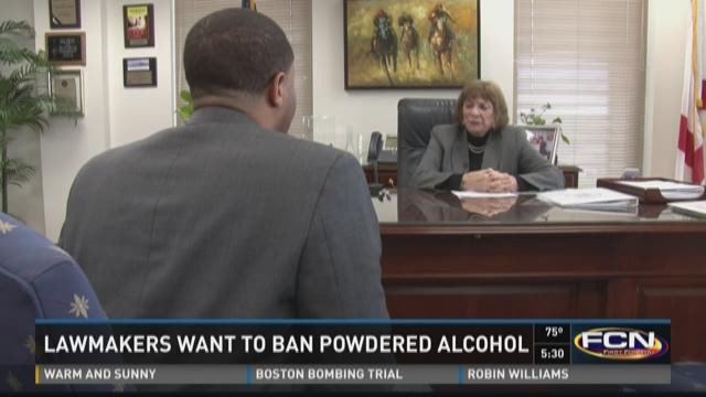 Some state lawmakers hope to ban palcohol