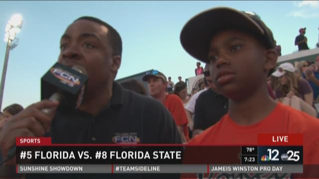 Preview of future First Coast Sports anchor Donovan Boston