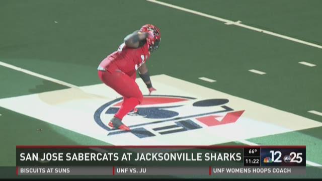 SaberCats defeat the Sharks 68-48