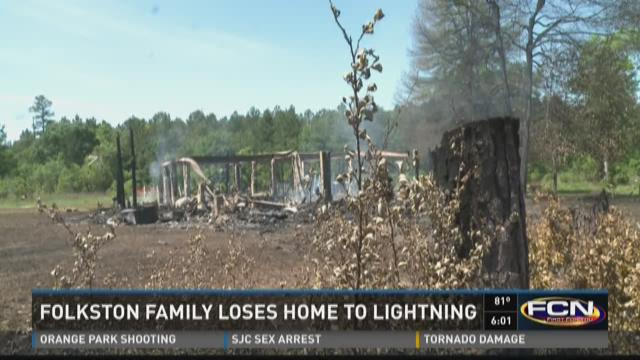 Folkston home fire