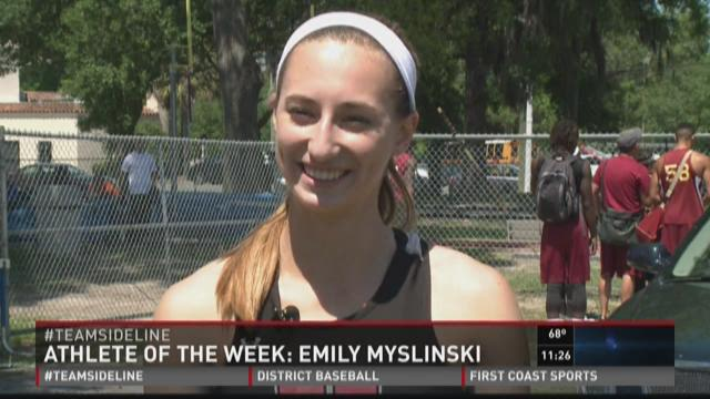 Bishop Kenny senior Emily Myslinski