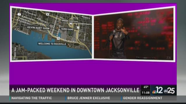 This weekend will be historically busy in downtown Jacksonville. Shannon Ogden takes a look at all the events going on.
