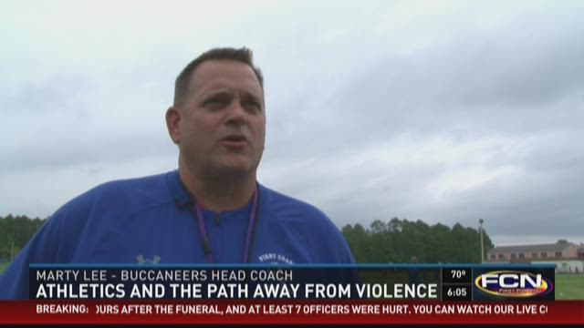 Athletics and the path away from violence