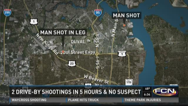 A man is expected to recover after he was wounded in