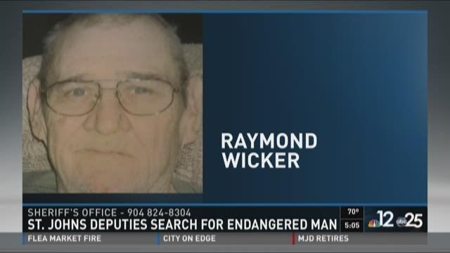 St. Johns County Sheriff's Office searching for missing man