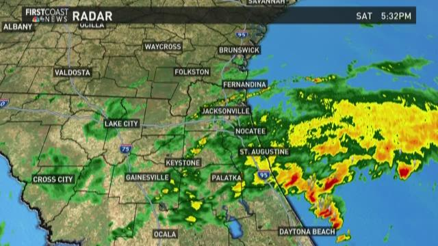 First Coast Weather Update Sept 30 2017 At 6