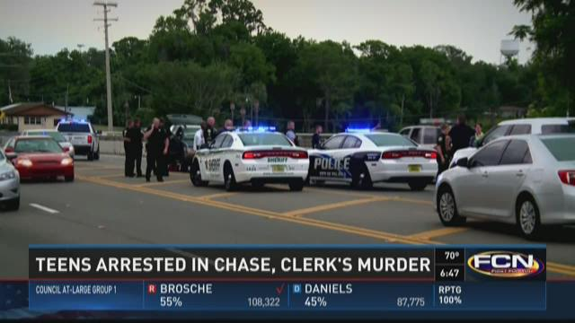 The chase -- which authorities say exceeded 100 miles