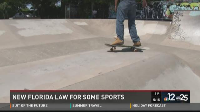 New Florida law lets skateboarders skate without parents' permission