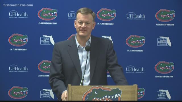 UF Athletics Director discusses firing Gators head coach Jim McElwain