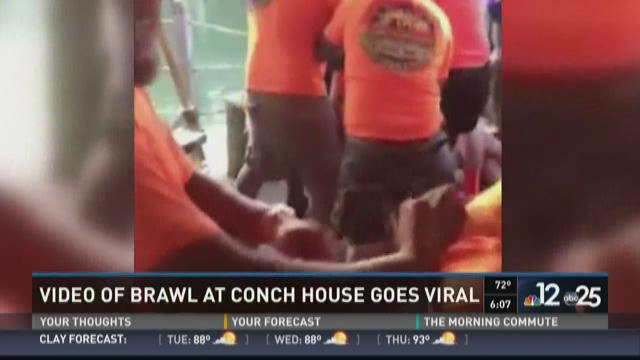 Video of brawl at Conch House goes viral