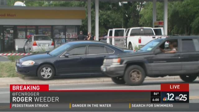 Shooting near NW Jax gas station