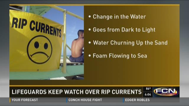 Rip currents pose risk for beachgoers