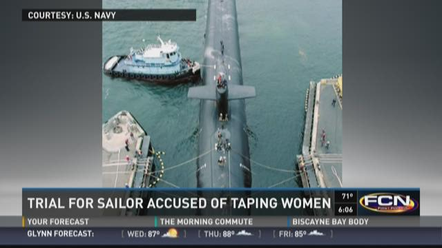 The Navy is investigating allegations that female crew