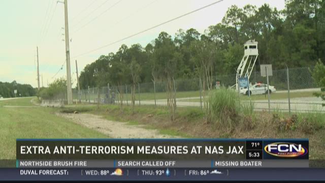 Extra anti-terrorism measures at NAS Jax