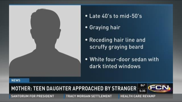 Mother: Teen daughter approached by stranger in Oakleaf