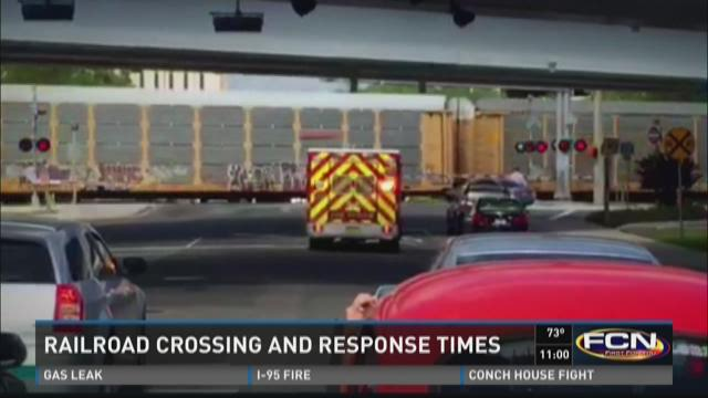 "Railroad crossing can be ""frustrating"" for first responders"