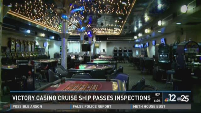 Victory Casino cruise ship passes inspections