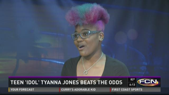 Teen 'Idol' Tyanna Jones beats the odds
