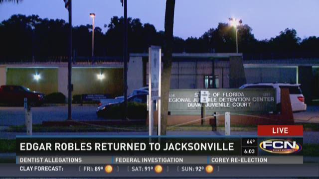Edgar Robles returns to Jacksonville