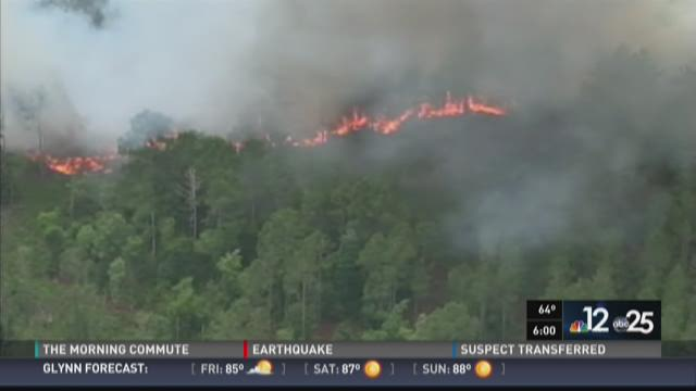35.2 acres burned in St. Johns County wildfire