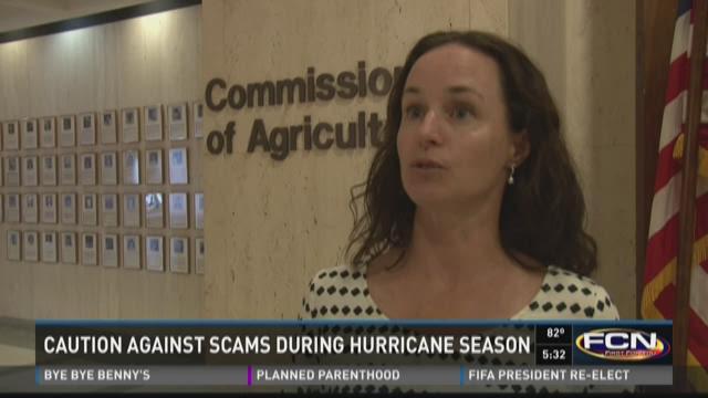 Caution against scams urged for hurricane season
