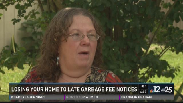 Losing your home to late garbage fee notices