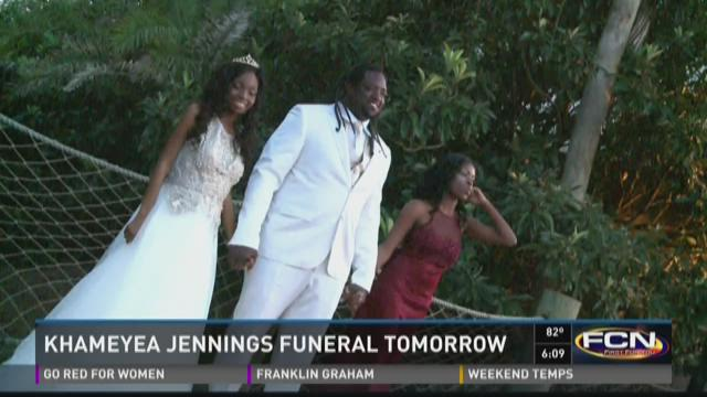 Funeral for Khameyea Jennings on Saturday