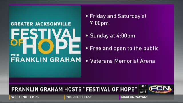 Franklin Graham hosts 'Festival of Hope'
