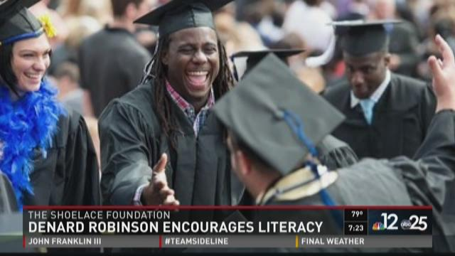 Denard Robinson Reading is Fun