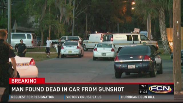 Man found dead in car from gunshot