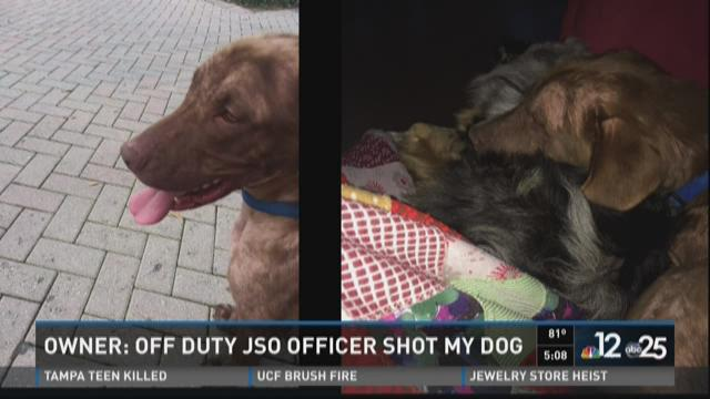 Off-duty JSO sergeant shoots neighbor's 'aggressive' dog in head