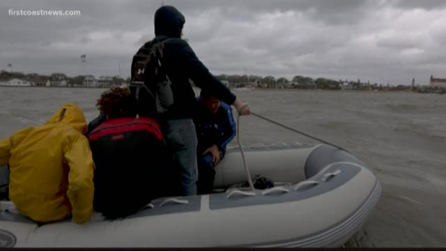 Weather strands group of at-risk teens who sail around Florida