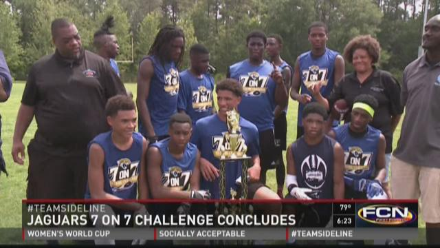 Potter's House wins Jaguars 7 on 7 Passing Challenge