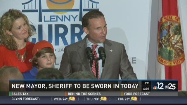 New mayor, sheriff to be sworn in today