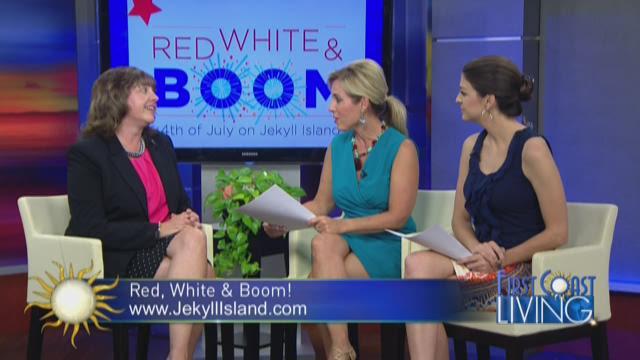 Jekyll Island's Red, White & Boom! Event